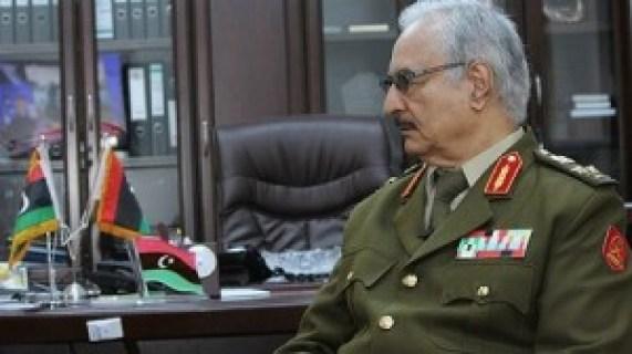 Le général Khalifa Haftar.(Archives)