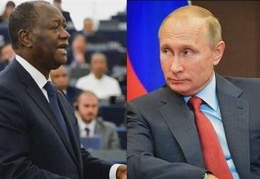 Côte d'Ivoire : l'offensive russe contre Ouattara