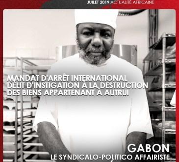 Gabon : Une tulle sur la tête du fuyard Jean Remy YAMA