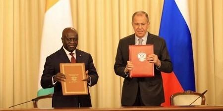 La Côte d'Ivoire signe un mémorandum d'entente pour renforcer sa coopération avec la Russie