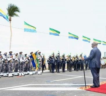 Gabon : Ali Bongo Ondimba ovationné