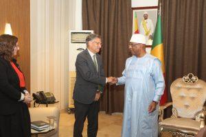 Audiences à Koulouba : Deux ambassadeurs reçus par le président de la République