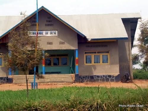 Bureau administratif du territoire de Beni (Nord-Kivu). 22/03/2016. Ph. Radio Okapi/Martial Papy Mukeba