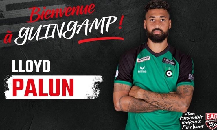 Football : Lloyd Palun signe à Guingamp
