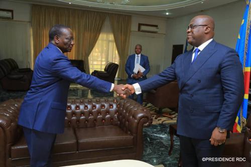 Kasongo Mwema «Il n'y a pas de raisons pour - Kasongo Mwema : «Il n'y a pas de raisons pour que le chef de l'État bloque la sortie du gouvernement»
