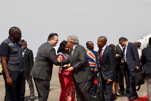 L'arrivée d'Antonio Guterres à Goma est un « signal fort », affirme le gouverneur Carly Nzanzu