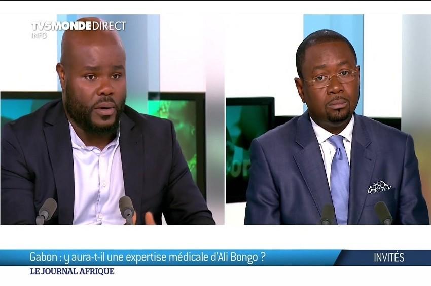 Maîtres Aimery Bongho Mavoungou et Calvin Job sur TV5 Monde - Gabon : La belle prestation de l'avocat d'Ali Bongo Ondimba