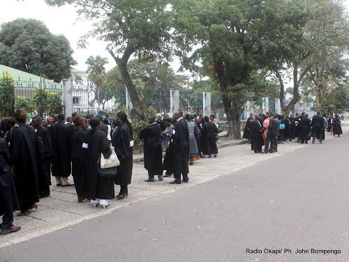 Nord Kivu juges et magistrats declenchent une greve seche - Nord Kivu : juges et magistrats déclenchent une grève sèche dans les juridictions de Beni