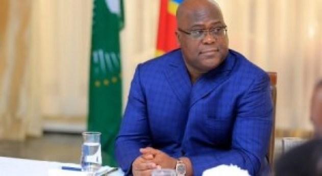 Le Chef de l'État Félix Tshisekedi
