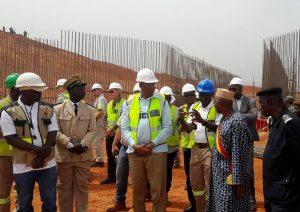 Site de la nouvelle mine d'or de B2Gold Fekola: La réinstallation de Fadougou bientôt achevée
