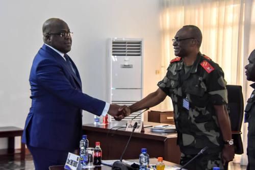 Tueries de Beni : Félix Tshisekedi instruit l'Etat-major des FARDC à « mettre fin à cet état de chose »