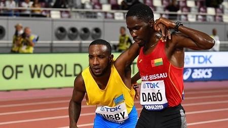 1024x576 879261 - Mondiaux d'athlétisme : le salutaire geste fair-play d'un athlète bissau-guinéen