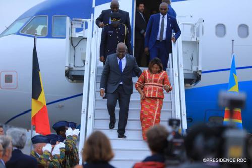 Le Phare : « F. Tshisekedi depuis hier à Bruxelles »