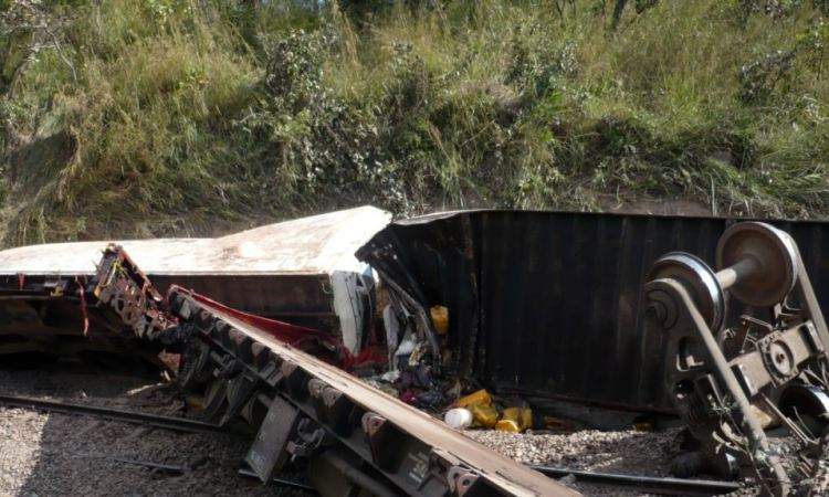 ACCIDENT FERROVIAIRE EN RDC