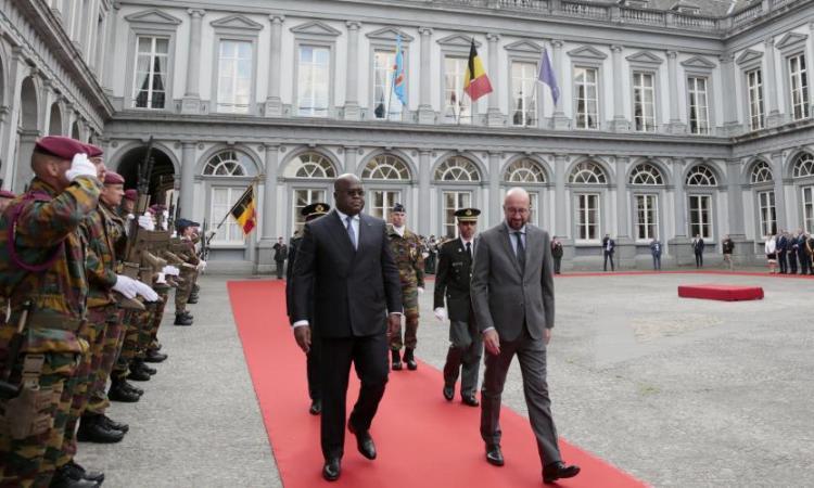 Visite du président congolais en Belgique – Trois accords signés en matière de diplomatie, de coopération et de finances