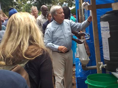 Ebola en RDC : António Guterres souhaite « une réponse à plusieurs volets »