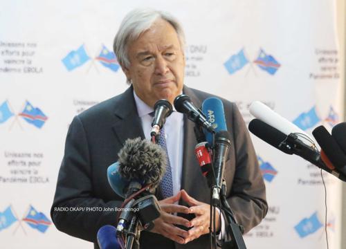 Le Phare : « 20 ans insécurité en RDC : le message d'espoir du SG des Nations unies »