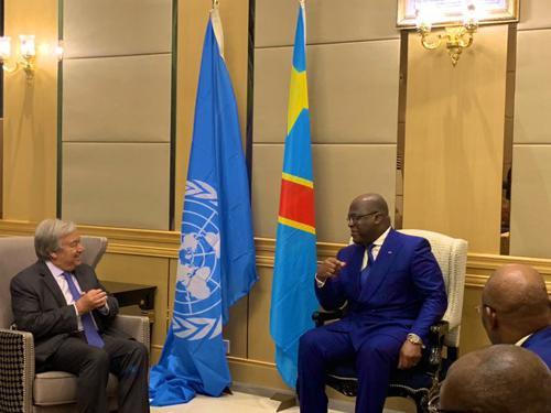 RDC : le contrôle de l'exploitation des ressources naturelles devrait être l'action prioritaire de l'Etat (Antonio Guterres)