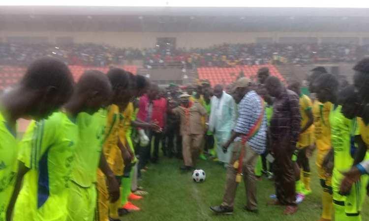 Tournoi régional de Football pour la paix et la cohésion - Tournoi régional de Football pour la paix et la cohésion sociale : Mopti – Douentza en finale