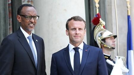 kagame elysee 230518 - La France garde une représentation au Rwanda mais n'a pas d'ambassadeur