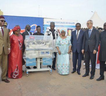 Mois de la solidarité : MALITEL fait des dons d'une valeur de 105 millions de Fcfa