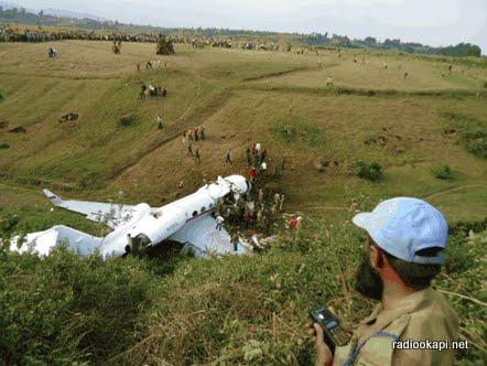 RDC : un avion s'écrase dans un quartier de Goma, au moins 27 morts