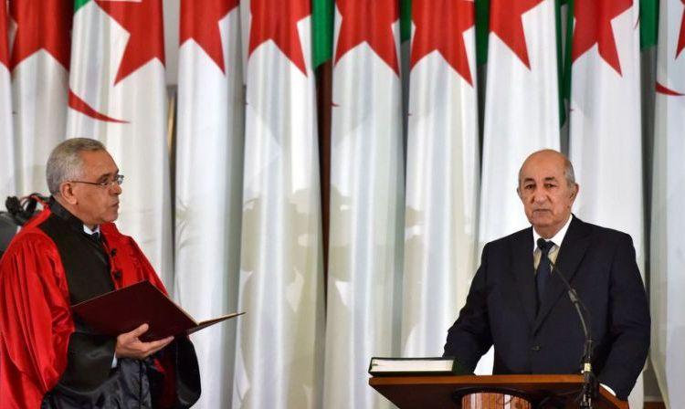 Algérie: mal élu et décrié, le président Tebboune est entré en fonction