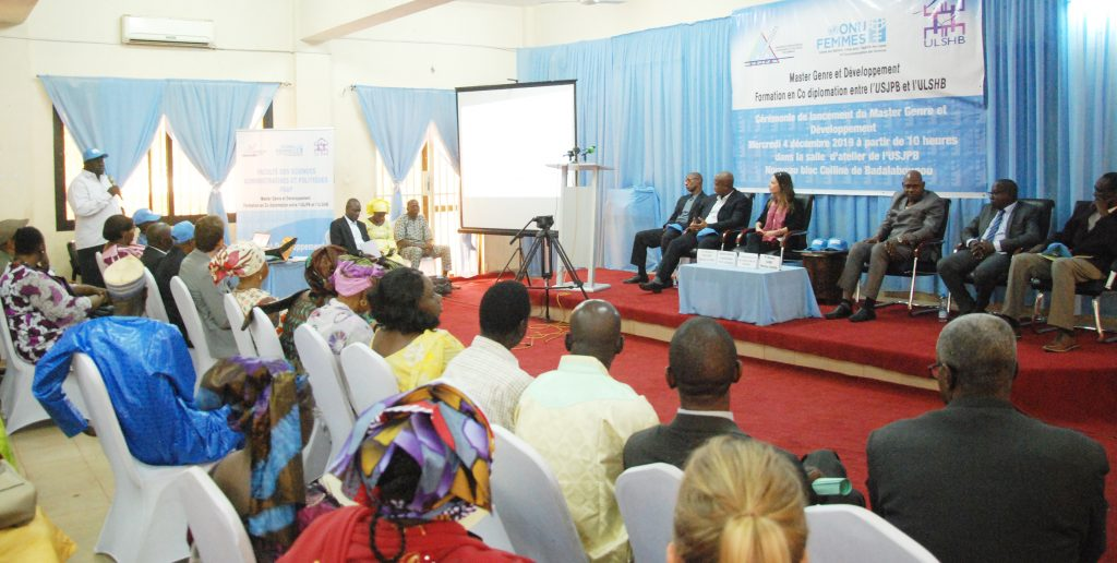 L'Université des sciences juridiques et politiques de Bamako lance un Master genre et développement