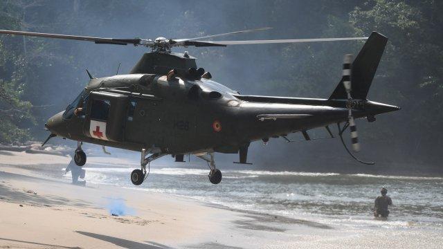 Tropical Storm ou comment l'armee se prepare a operer dans - Tropical Storm, ou comment l'armée se prépare à opérer dans la jungle gabonaise
