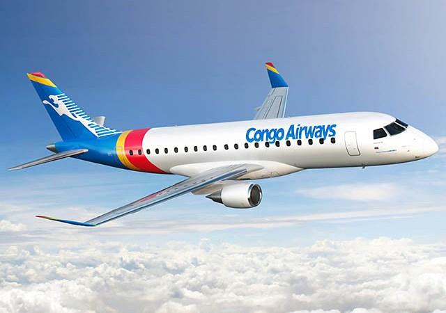 Congo Airways commande deux Embraer E175