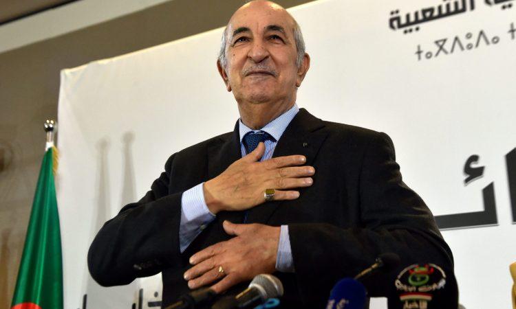 Algérie: l'armée félicite le nouveau président Tebboune