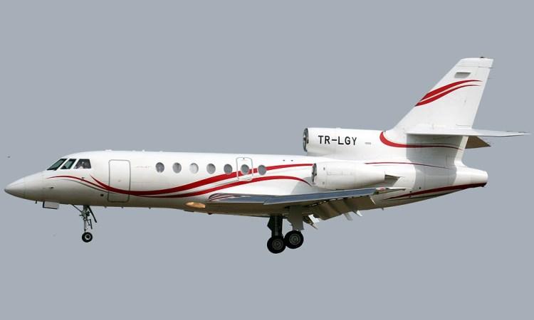dassault falcon 50 afrijet business services - Les compagnies aériennes gabonaises retirées de la liste noire de l'UE