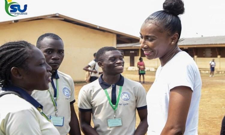 """""""Le sport c'est bien, mais l'éducation c'est encore mieux"""", Géraldine Yéma Robert"""
