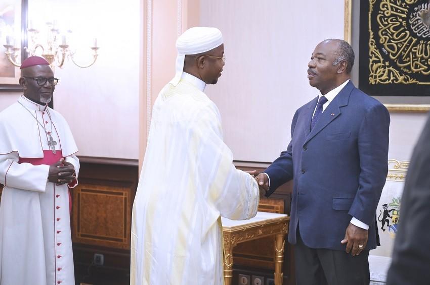 Gabon : Ali Bongo Ondimba à l'écoute des leaders religieux