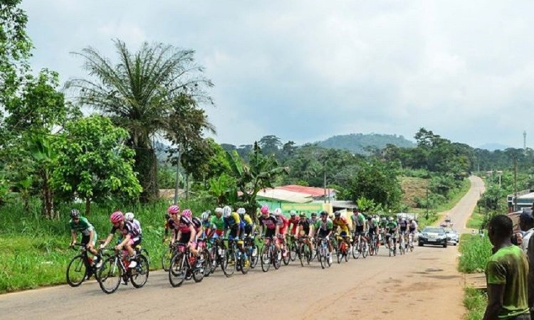 Tropical Amissa Bongo : Natnael Tesfazion remporté l'étape dans le chef-lieu du Woleu-Ntem