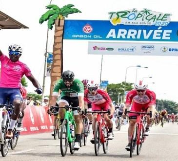 Tropicale Amissa Bongo 2020 :Deuxième victoire pour Biniam Girmay Hailu