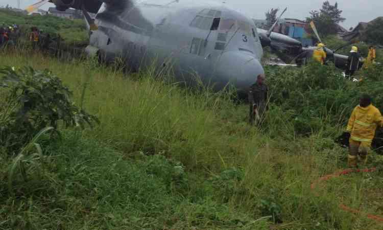 RDC : Crash d'un avion militaire à Goma