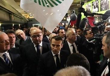 """Emmanuel Macron « J'avais dit au Président Biya: """"Je ne veux pas qu'on se voit à Lyon tant que Maurice KAMTO n'est pas libéré"""""""