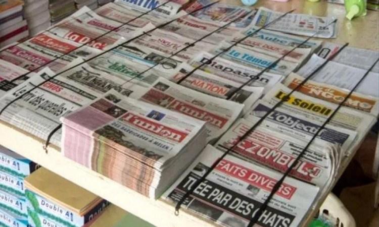 Gabon / Médias : La revue de la presse gabonaise de la semaine du 27 janvier au 2 février 2020