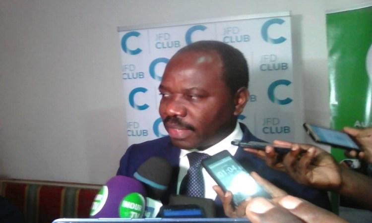 ''Nous avons eu des recommandations de la part des autorités, de ne rater aucun challenge'', Hugues Badinga Madiya