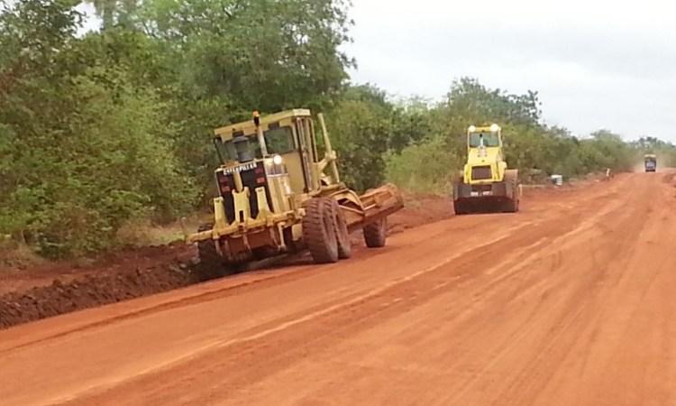 Gabon/Réhabilitation des routes dans le Ntem:Olam Rubber à la manœuvre