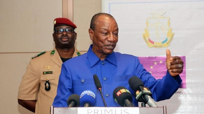 Guinee 915 de « oui » a la nouvelle Constitution proposee par - Guinée: 91,5% de «oui» à la nouvelle Constitution proposée par le pouvoir