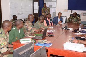 Mopti : Réunion de sensibilisation des militaires sur le Coronavirus