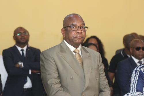 Le vice-Premier ministre, ministre de l'Intérieur, Gilbert Kankonde. Photo John Bompengo