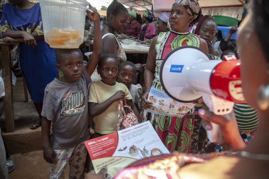 RDC: les enfants menacés par des épidémies de rougeole et de choléra