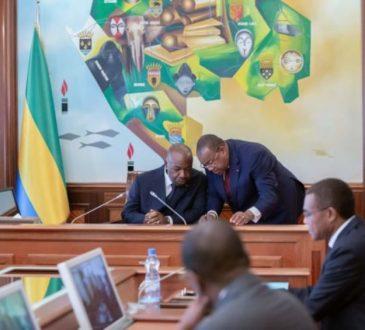 Riposte contre le Coronavirus:Conseil de guerre autour d'Ali Bongo Ondimba
