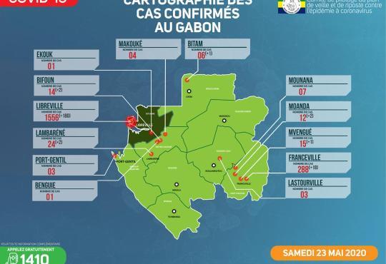 Covid19/Ngounié: un premier cas testé positif à Pangani.