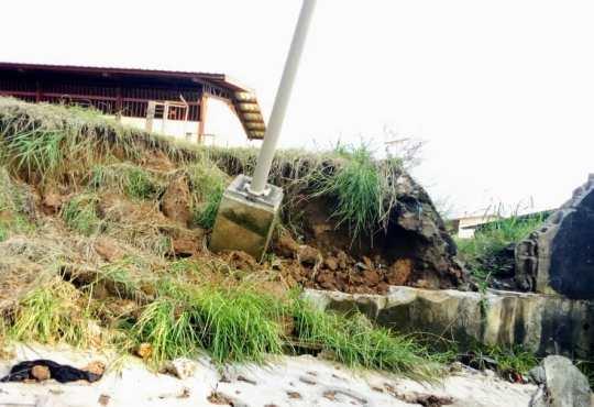 Éducation/Calamités naturelles: L'ENS B victime d'un sinistre.