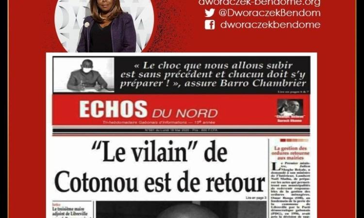 MAIXENT LE RETOUR 202 MAI 2020 - Chronique du Gabon : Maixent Accrombessi, la nouvelle alliance