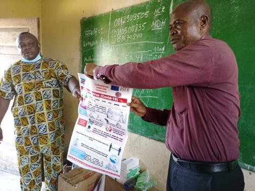 Kwango : lancement de la campagne de sensibilisation de la population sur la Covi-19